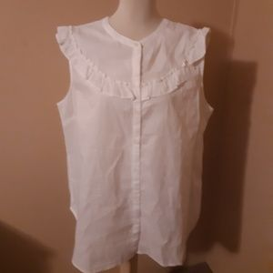 Old Navy Womans White Blouse